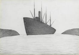 1960 - Ship Entering Harbour